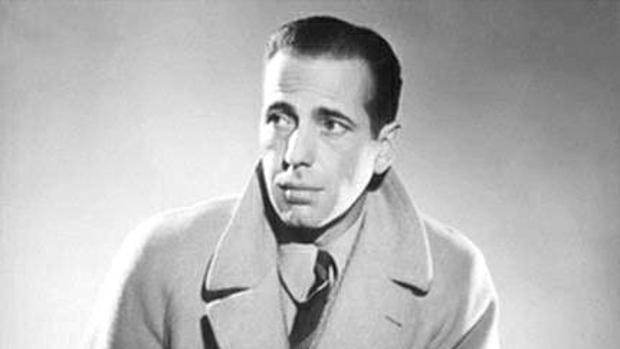 El actor Humphrey Bogart