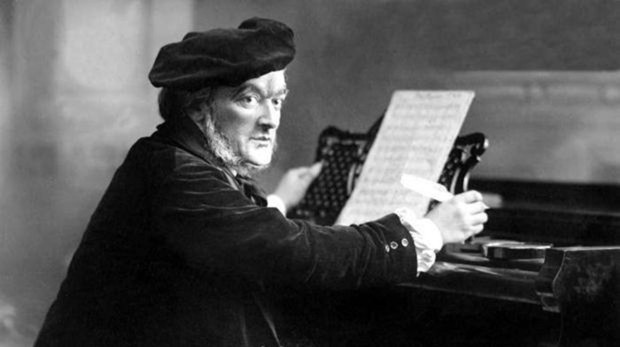 Richard Wagner, fotografiado en 1875