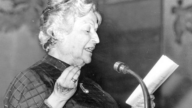 Carmen Conde leyó su discurso de ingreso el 28 de enero de 1979
