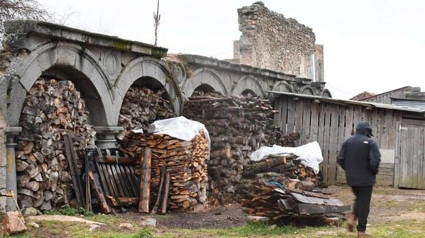 Ruinas del Palacio de Valsaín