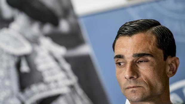 Paco Ureña, en el anuncio de su reaparición en las Fallas de Valencia
