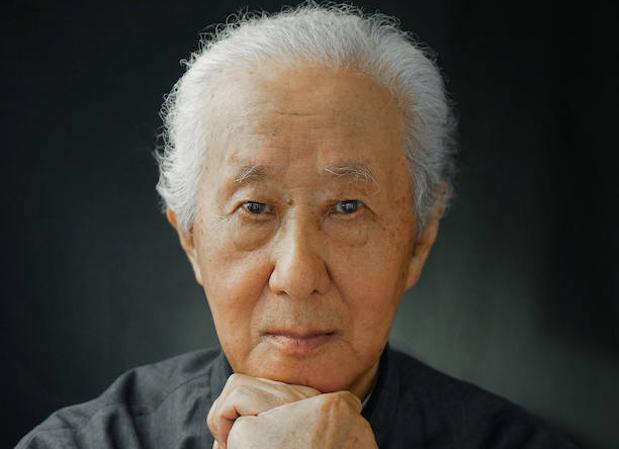 El arquitecto japonés Arata Isozaki
