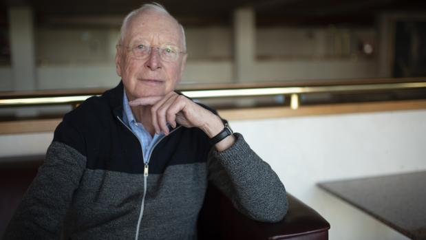William Christie, durante la entrevista en Madrid