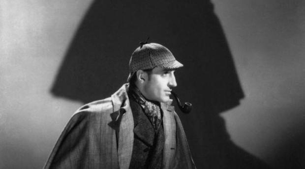 Basil Rathbone (en la imagen) dio vida a Sherlock Holmes en catorce películas