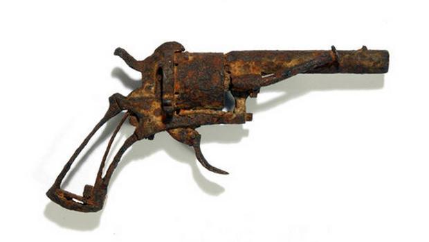 El revólver con el que Van Gogh se habría subastado
