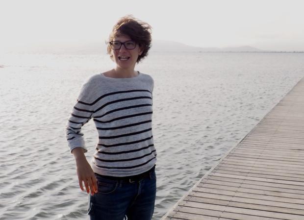La escritora Andrea Valdés