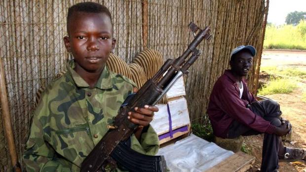 Carne de cañón infantil en numerosas guerras