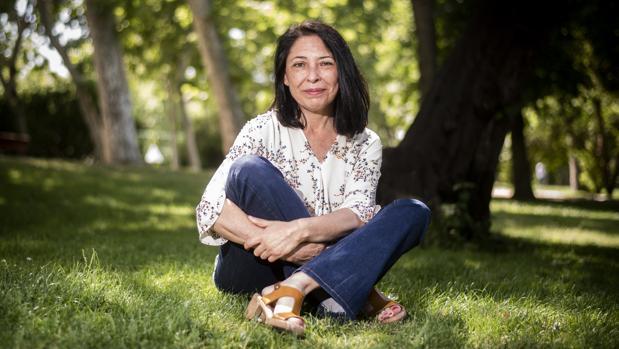 Belén Rubiano, fotografiada en el madrileño Parque del Retiro