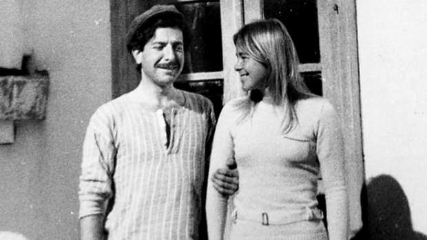 Leonard Cohen y Marianne Ihlen en la isla de Hidra