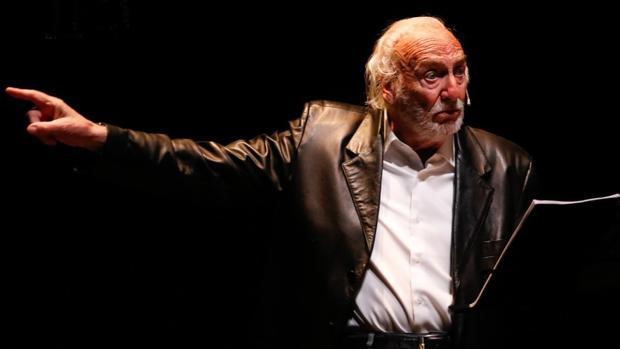 Héctor Alterio, en una imagen del espectáculo