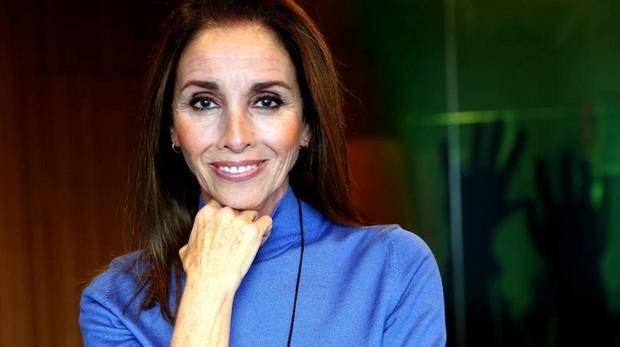 Ana Belén, durante la presentación de «Vida»