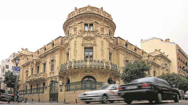 La sede de la SGAE en el Palacio de Longoria