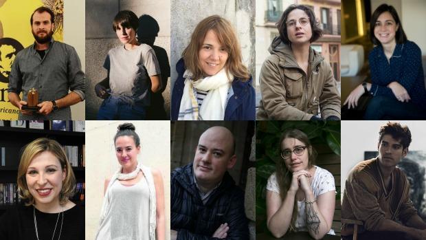 Los diez autores elegidos