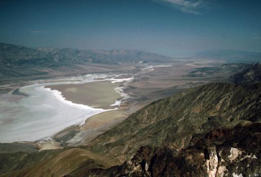 Vistas del Valle de la Muerte desde el «Mirador de Dante»