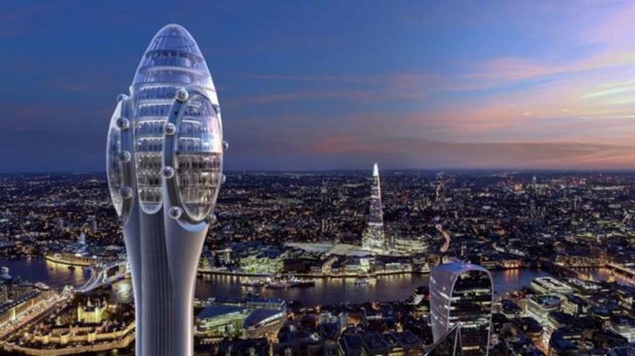 Londres tumba la construcción del «Tulipán» de Norman Foster «por no ser demasiado bueno»