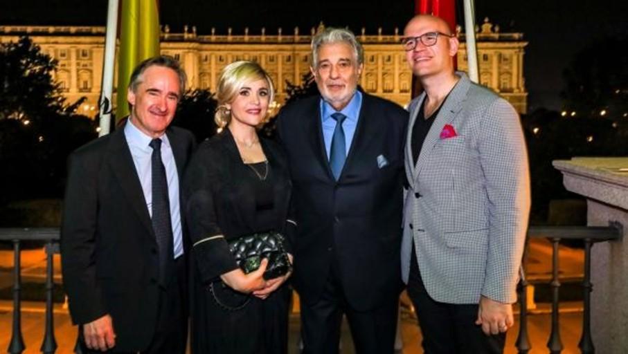 El Teatro Real se rinde de nuevo ante Plácido Domingo