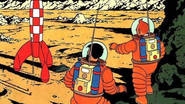 Del cohete de Tintín al módulo lunar de Snoopy: los personajes de cómic que  han estado en órbita