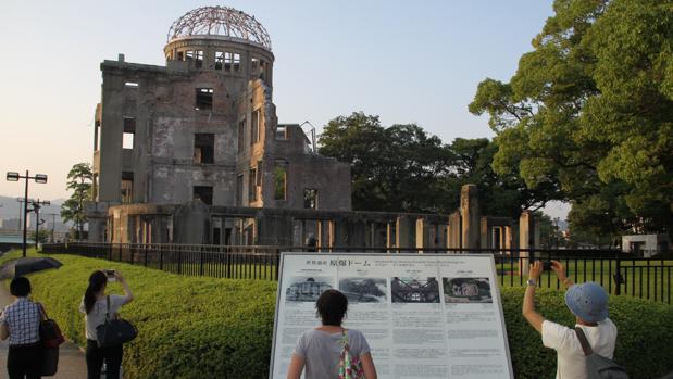 La Cúpula de la Bomba Atómica es el icono de Hiroshima