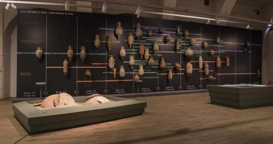 El yacimiento de las «naves antiguas» que ha dado lugar al museo dibuja la vida naval y fluvial de un milenio desde el III a.C.