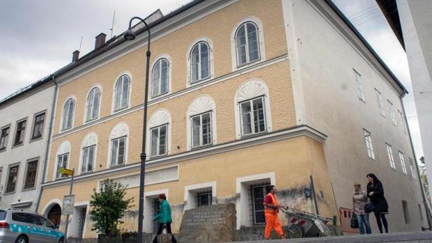 Fotografía tomada en 2015 de la fachada de la casa donde nació Hitler