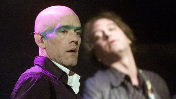 Michael Stipe, cantante y líder de R.E.M.
