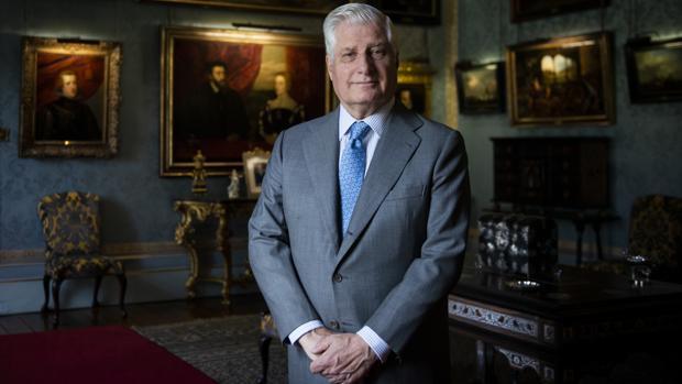 El duque de Alba recibe a ABC días antes de abrir las puertas de Liria