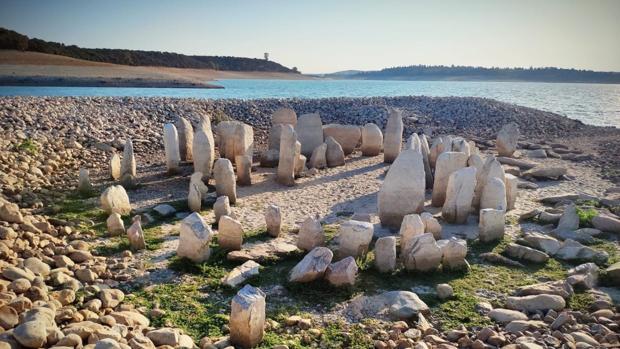 El conjunto del dolmen de Guadalperal