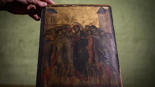 «El Cristo burlado», de Cimabue