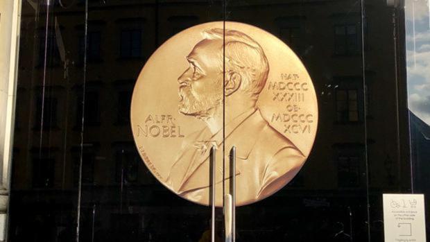 Puertas del Museo de los premios Nobel