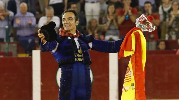 El Cid, con la bandera de España
