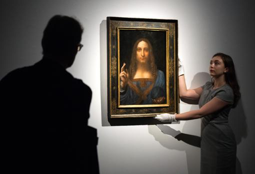 «Salvator Mundi», atribuido a Leonardo, se vendió por 450 millones de dólares