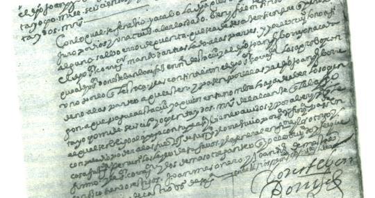 Cuentas de 1645, recibidas por el regidor
