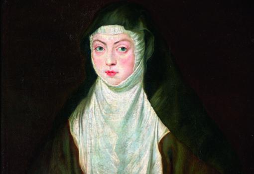 «Retrato de Sor Ana Dorotea», de Rubens. Detalle. Monasterio de Las Descalzas Reales, Madrid