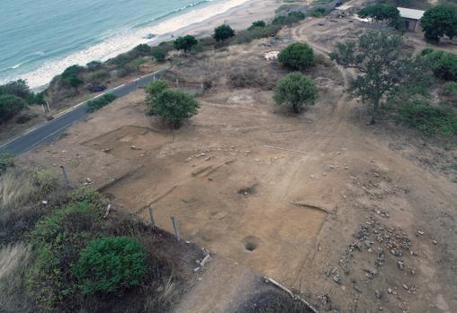 Área de Excavación de la campaña de 2019 en el yacimiento de Ligüiki.