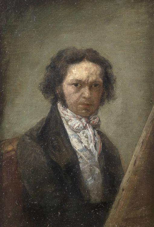 Fig.15 Autorretrato de Goya sentado