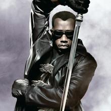 Detalle del cartel de «Blade II»