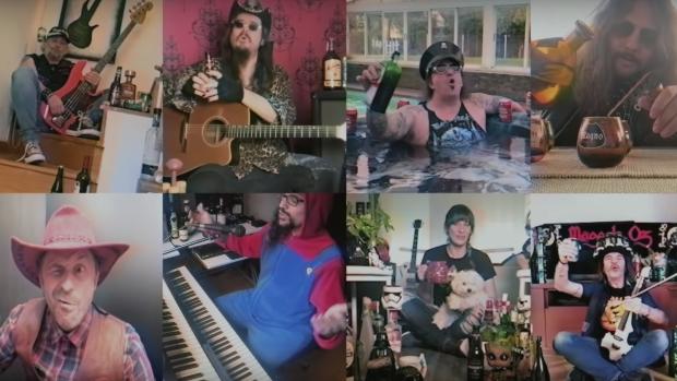 El himno heavy contra el coronavirus: «Tequila tanto por vivir» de Mägo de Oz