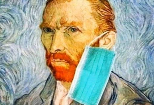 Van Gogh, in one of the memes that flood social media these days