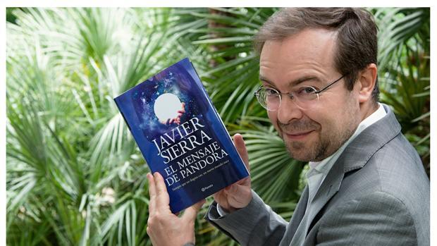 Javier Sierra, con su nuevo libro «El mensaje de Pandora»