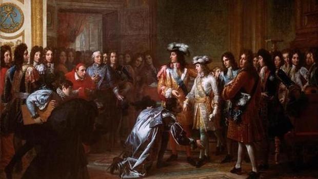 Felipe V, proclamado rey de España