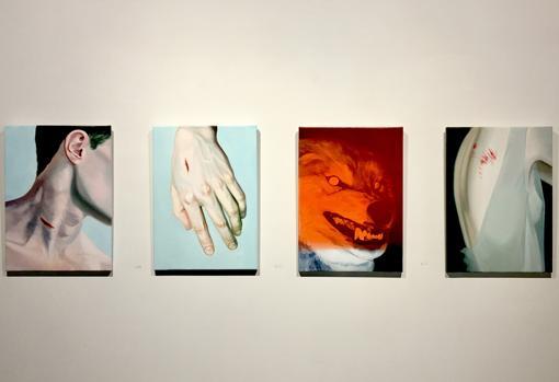 Obras de la muestra «Cazadores»