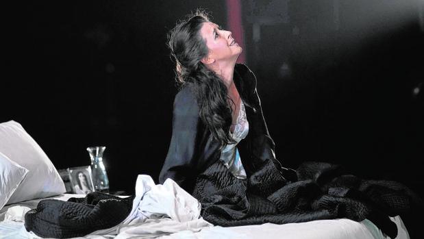 Lisette Oropesa, dans l'aria