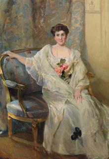«María de los Ángeles de Beruete y Moret» (1904)