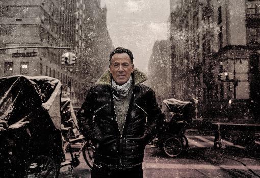 Springsteen, durante las sesiones de promoción de su último disco