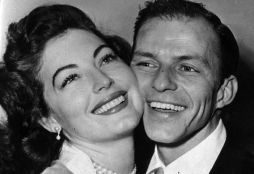Sinatra con Ava Gardner