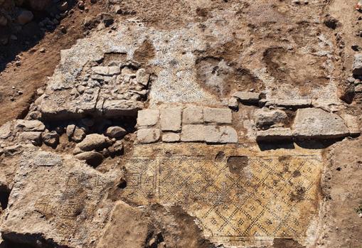 La inscripción de Cristo se encontró al excavar un edificio en la aldea de et-Taiyiba