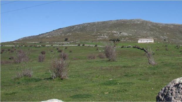 Vista del cerro donde se localiza el asentamiento indígena
