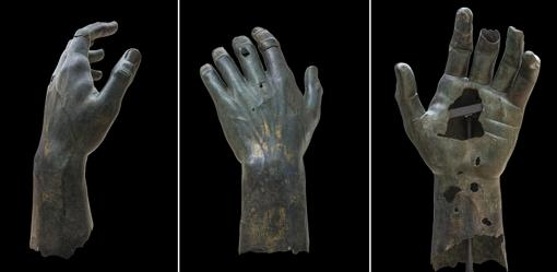 La colosal mano de Constantino