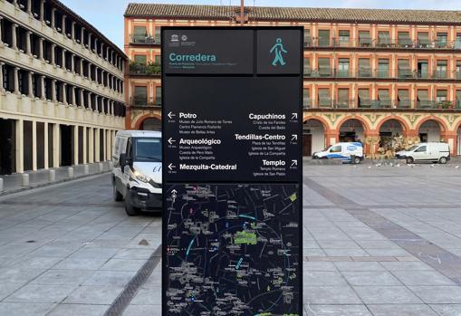 Señalización del proyecto 'Andando Córdoba'