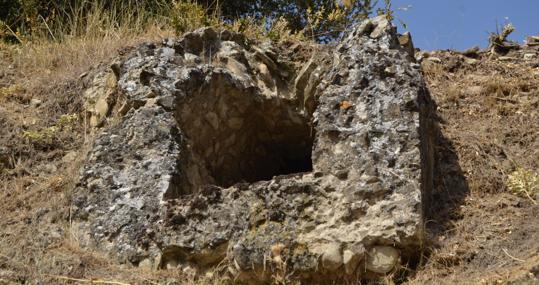 Roman factory sewer